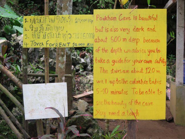 Consejos para visitar las Cuevas de Vang Vieng