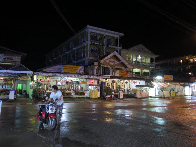Marcha en Vang Vieng