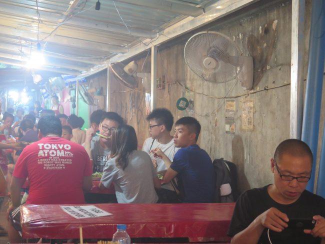 El sitio más barato para cenar en Luang Prabang