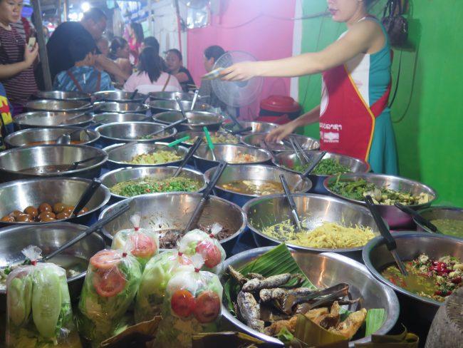 Cenar en Luang Prabang
