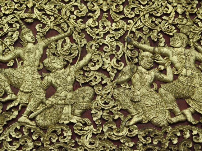 Ornamentación Templos Laos