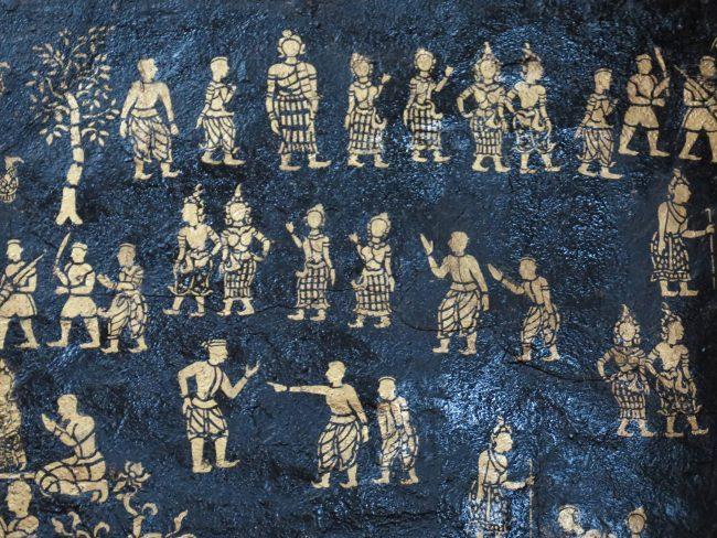 Murales Luang Prabang