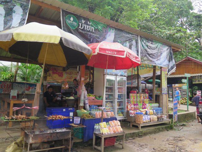 Comer por poco dinero en Laos