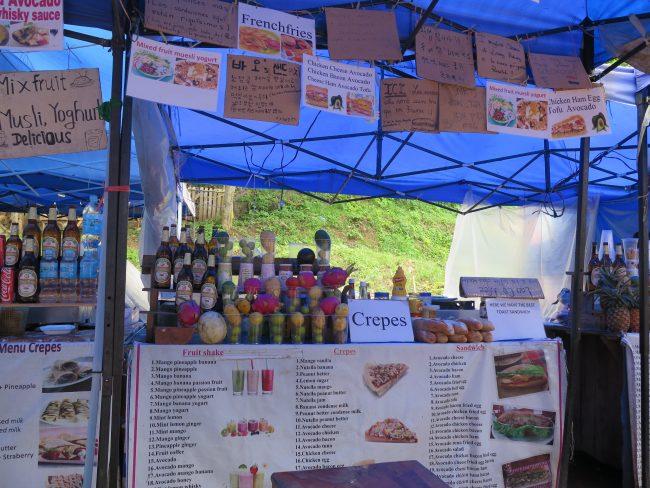 Precios por comer en Laos