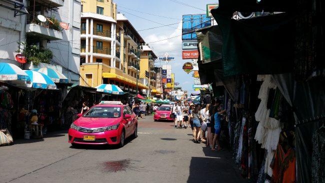 Regateo en el transporte público de Bangkok