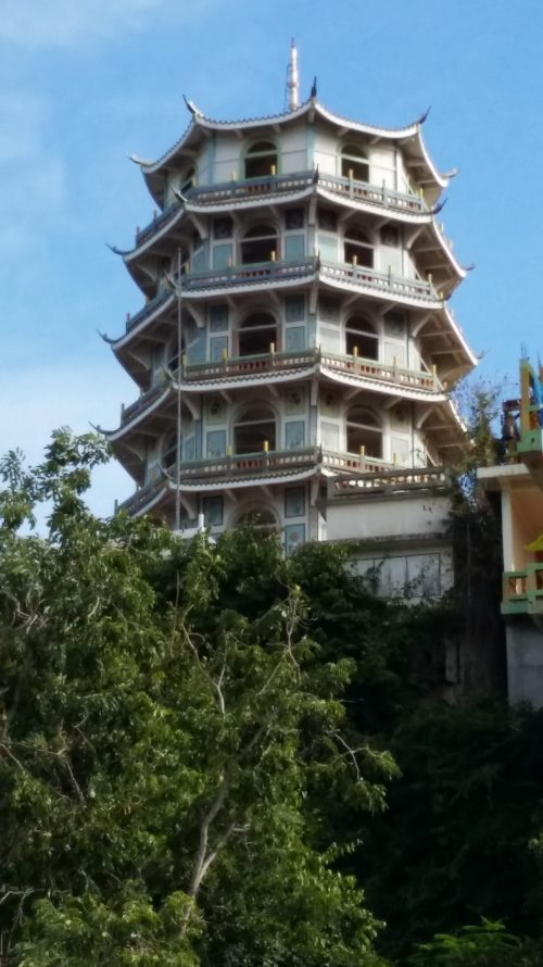 Pagoda China en Kanchanaburi