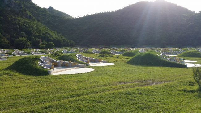 Cementerio Chino en Tailandia