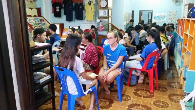 Jóvenes de Luang Prabang