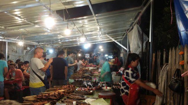 Las cenas más baratas de Luang Prabang