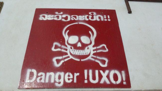 Los peligros actuales de las bombas de Laos