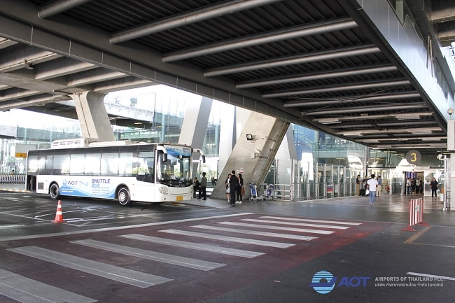 Transporte Aeropuertos de Bangkok