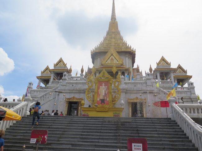 El principal templo de Chinatown en Bangkok