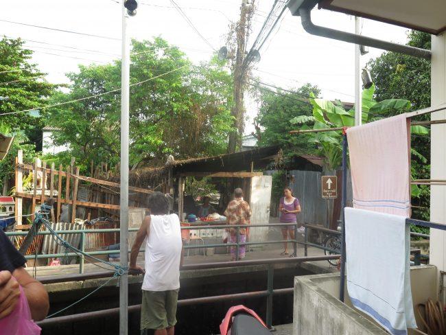 Barrios pobres de Bangkok