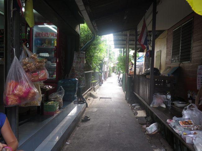 El Bangkok de los pobres