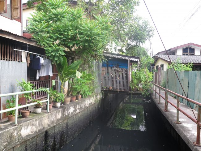 Visitas diferentes en el centro de Bangkok