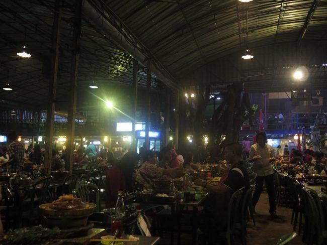 Comer sin parar en Bangkok
