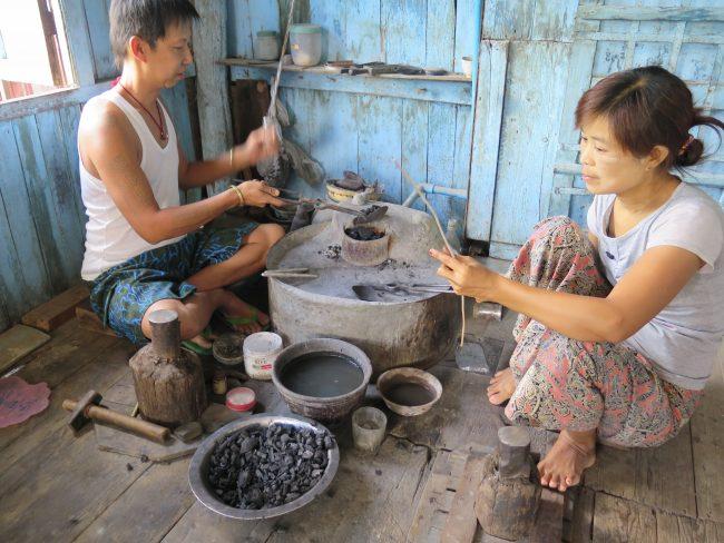 Artesanía Myanmar