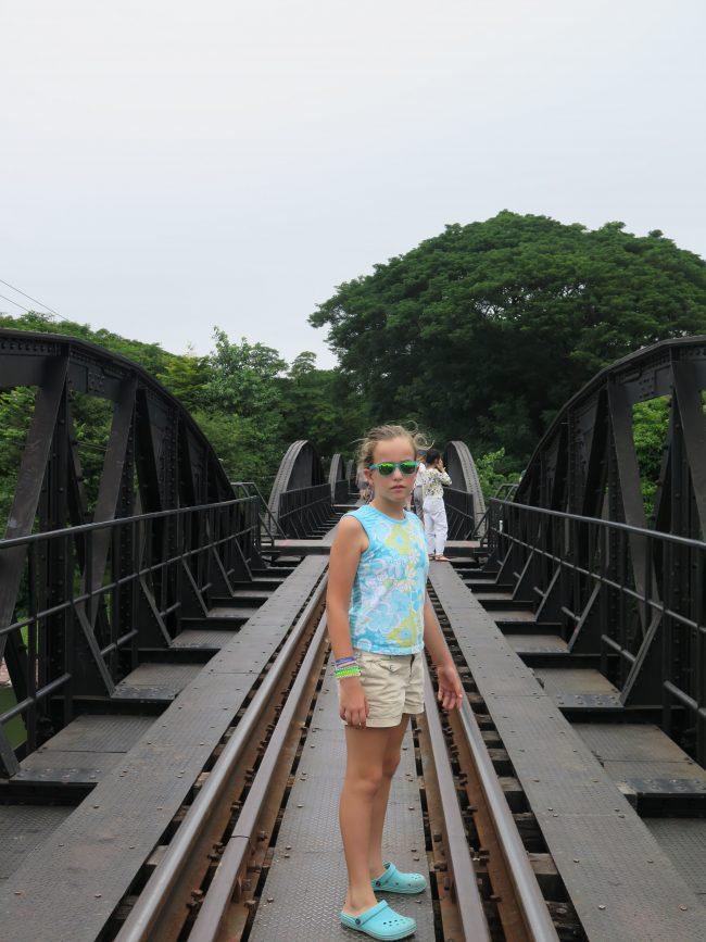 La peor hora para visitar el Puente sobre el Río Kwai