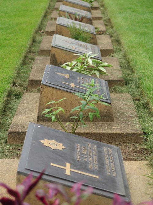 Aliados fallecidos en Tailandia