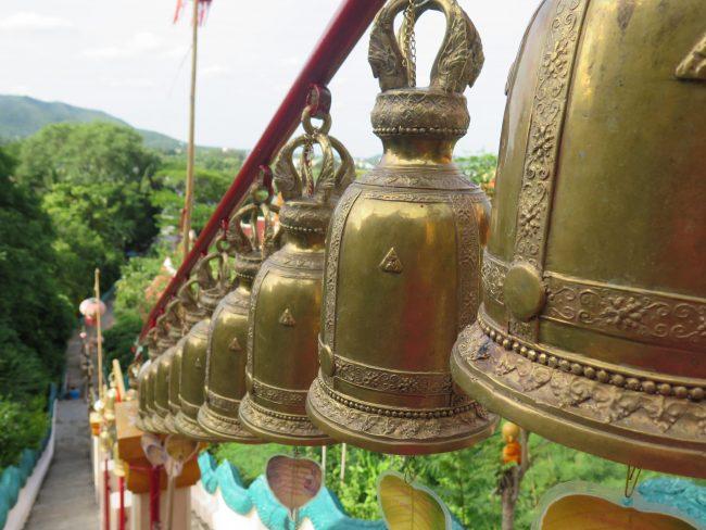 Ritual de campanas en Tailandia