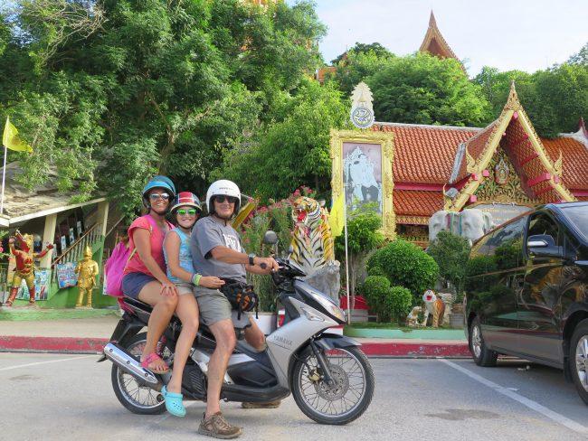 Alquiler de motos en Kanchanburi