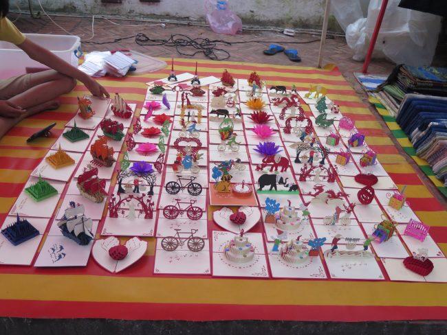 Compras en Laos