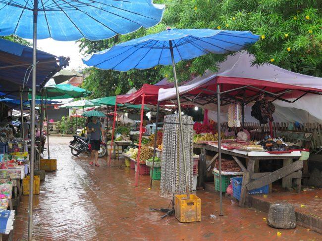 Mercadillos de Laos
