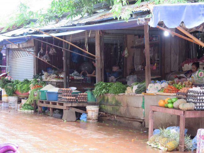Mercados tradicionales Luang Prabang