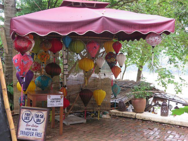 Lámparas de papel Laos