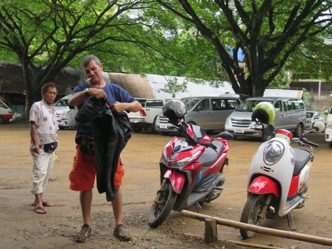 Alquiler de motos Laos