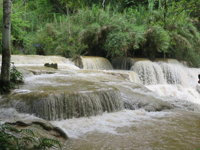 Temporada para visitar las Cascadas Kuang Si