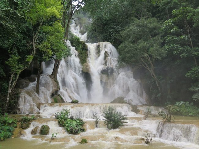 Kuang Si en épocas de monzones