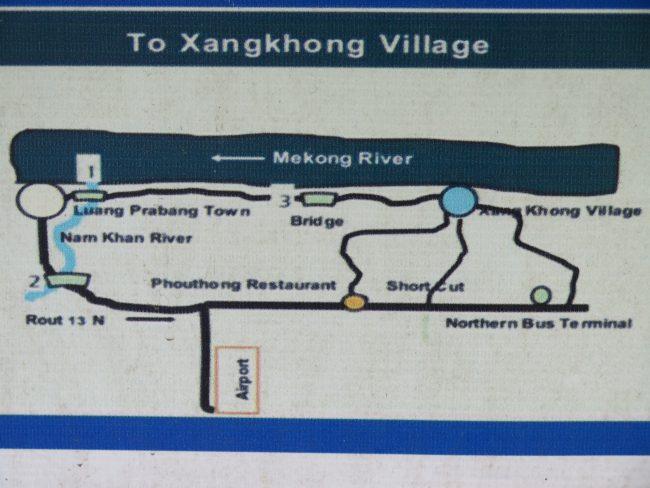 Cómo cruzar los ríos en Luang Prabang