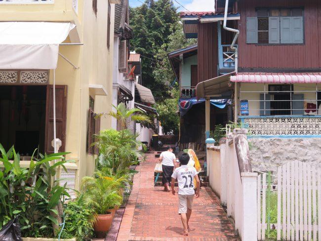 Lo menos turístico de Luang Prabang