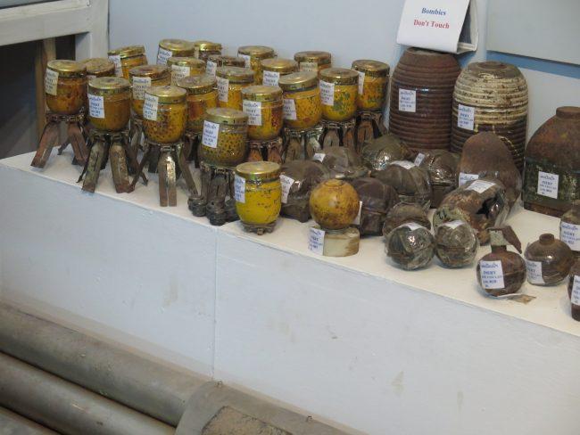 Minas antipersona Laos
