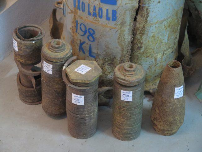 Armamento de guerra en Laos