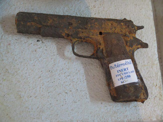 Exposición de armas Luang Prabang
