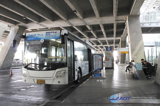 Autobuses gratis don Mueang