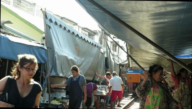 Mercados de Tailandia