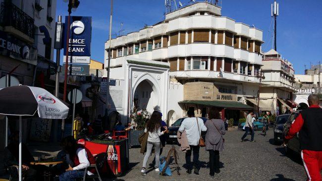 Principal plaza de Tánger