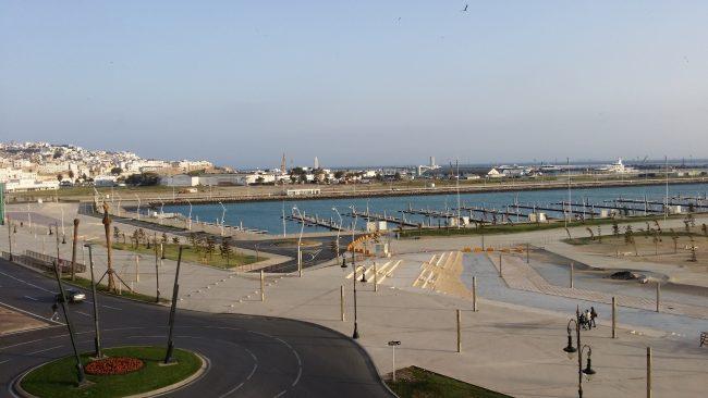 Nuevo puerto de Tánger
