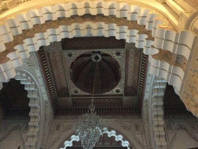 Construcción de la Mezquita de Hassan II
