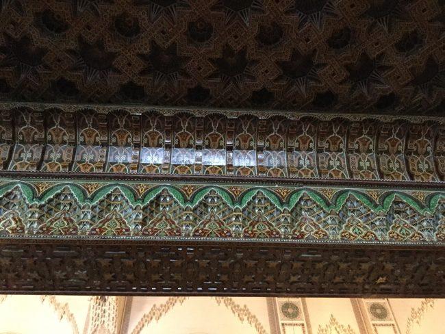 Decoración Mezquita de Hassan II
