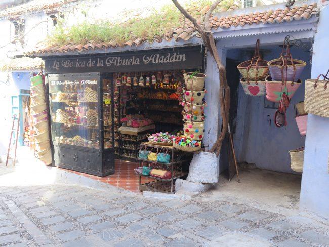 Tiendas de Chaouen