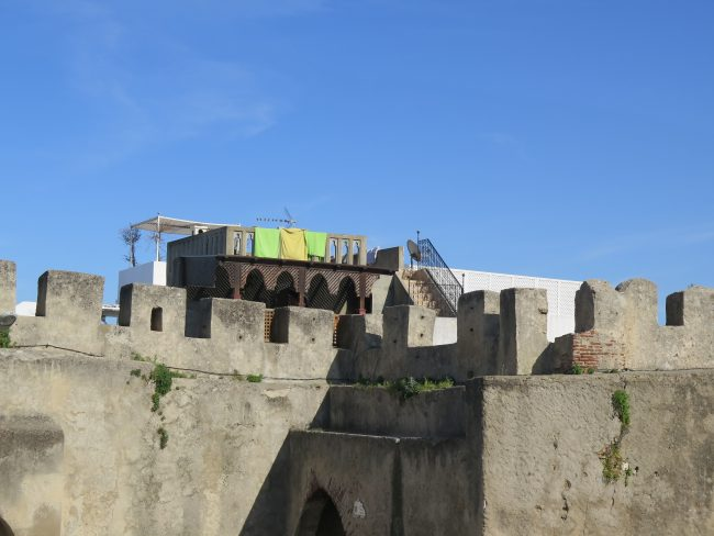 Zona antigua de Tánger