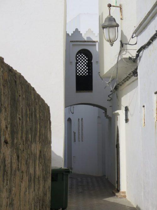Calles del interior de la Medina de Asilah