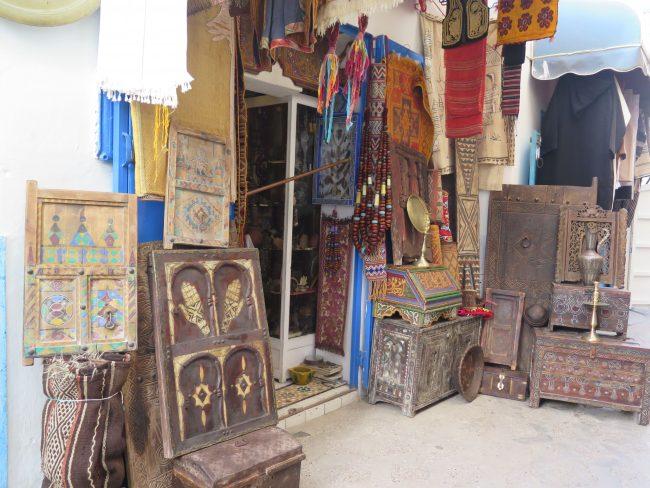 Artesanía típica de Marruecos