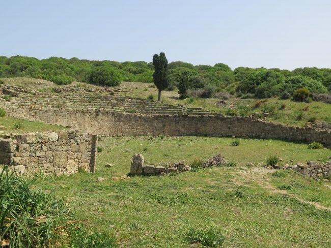 Único anfiteatro romano de Marruecos