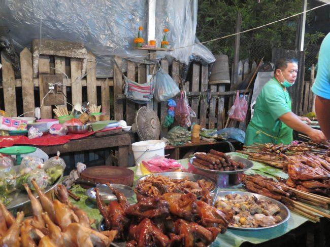 Dónde no cenar en Luang Prabang