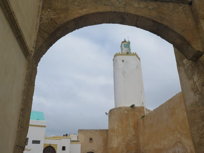 Única mezquita de planta pentagonal